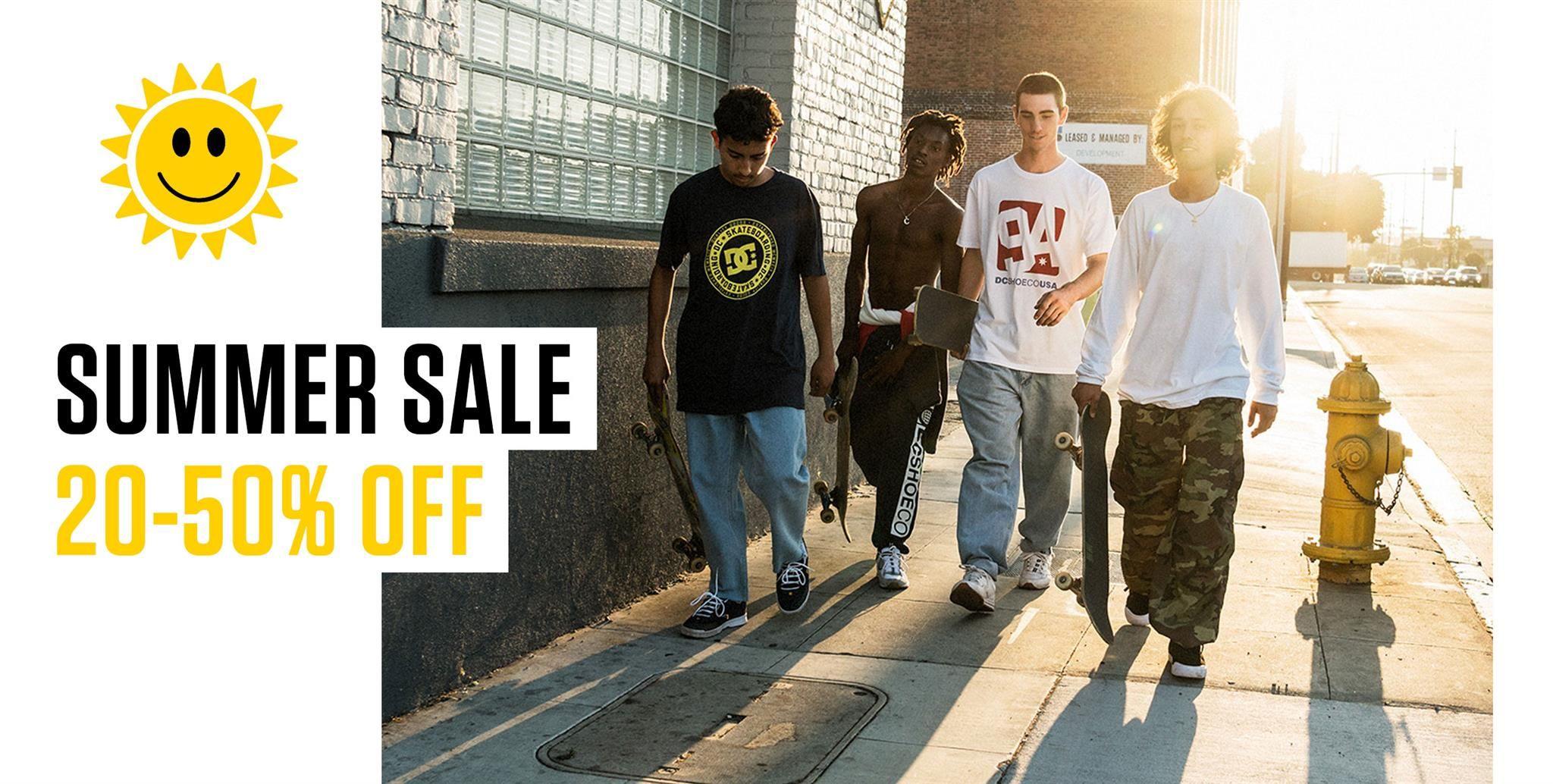 Summer 20-50% sale 2018