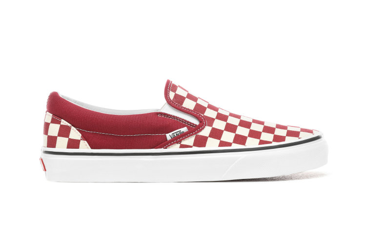 VANS Classic Slip-on (checkerboard) (VN0A38F7VLW)