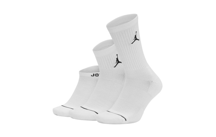 JORDAN Everyday Max Sox (3 Pairs) (SX6274-100)