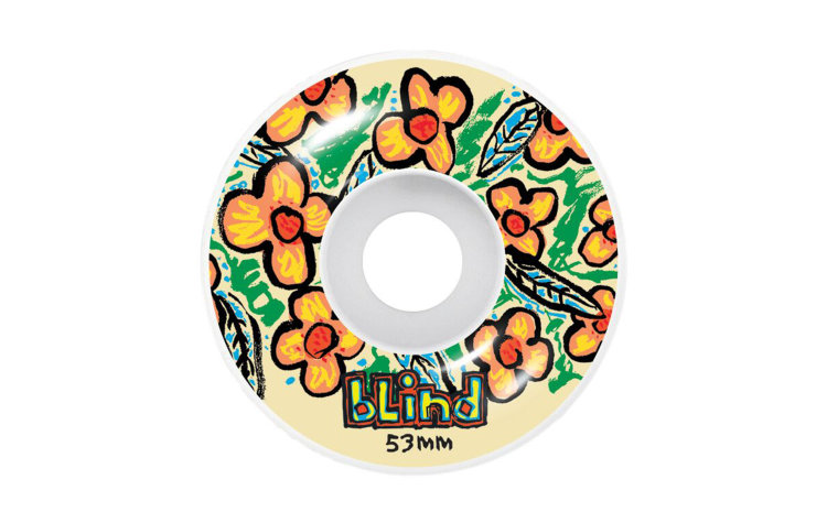BLIND Flowers Wheels 53mm (10111165)