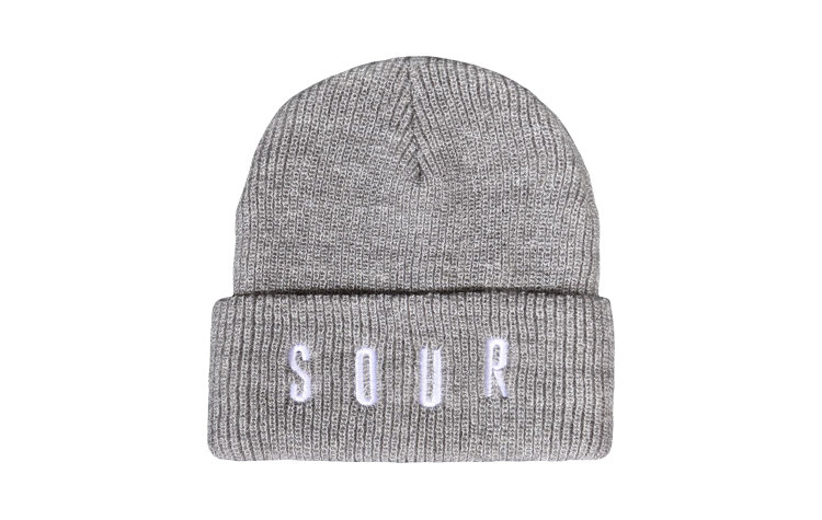 SOUR Embroidered Army Beanie ()