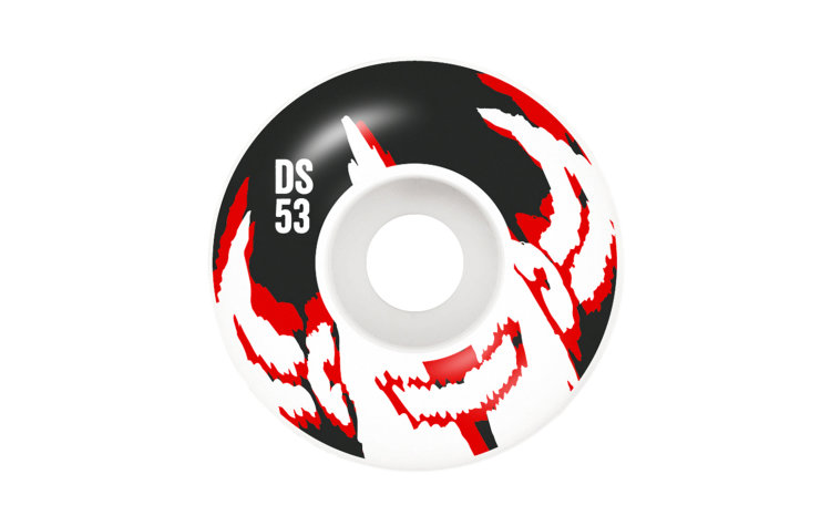 DARKSTAR Dissent Wheels 53mm (10112341-RED)