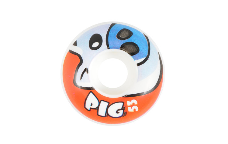 PIG Piggy Wheels 53mm (134584-WBL)