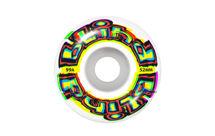 BLIND Glitch Wheels 52mm (10111172-YEL)